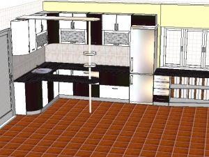 Кухонный гарнитур пленка