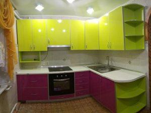 Кухонный гарнитур Желтый