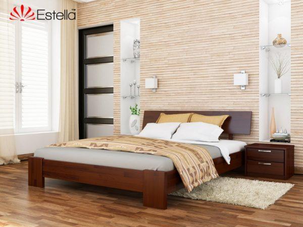 Деревяная кровать Титан