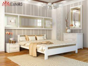 Деревяная кровать Афина