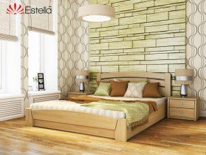 Деревяная кровать Селена Аури
